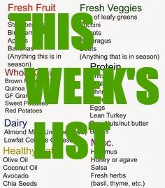 This Week's List